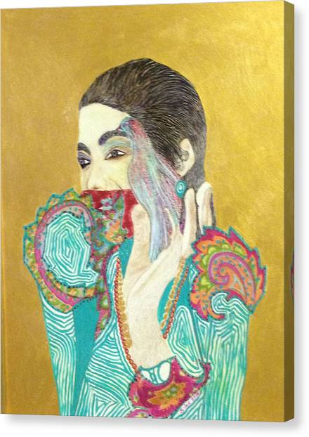Dearest Farah Pahlavi Canvas Print