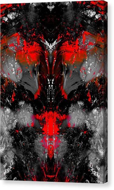 Death At Night Canvas Print by Paul Gavin