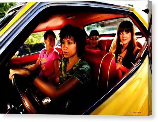 Death Proof - Quentin Tarantino - 2007 Canvas Print