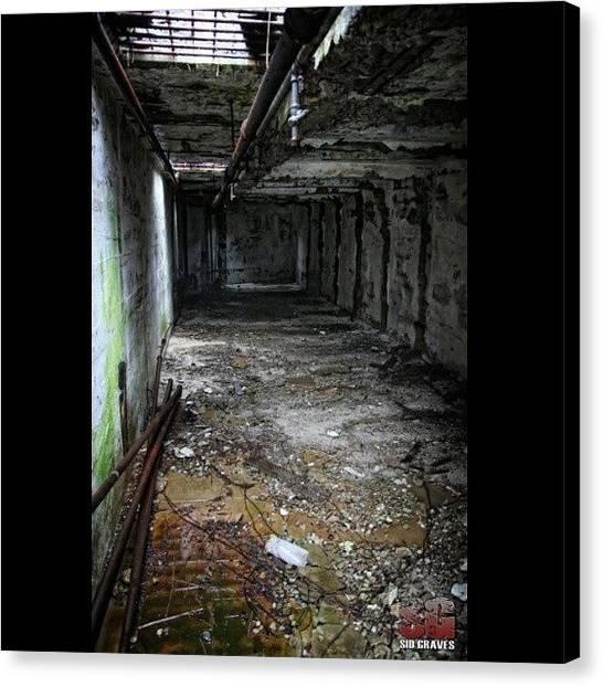 The Legion Canvas Print - Death Row Eastern State Penn / #esp by Sid Graves