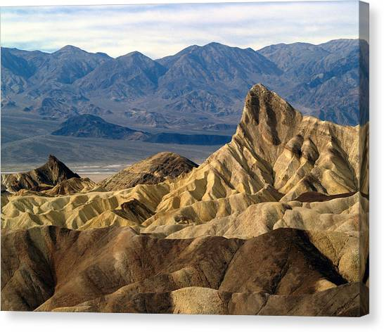 Death Valley Np Zabriskie Point 11 Canvas Print