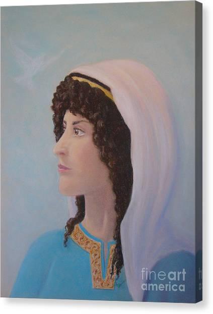 Deborah    Prophetess And Judge Canvas Print