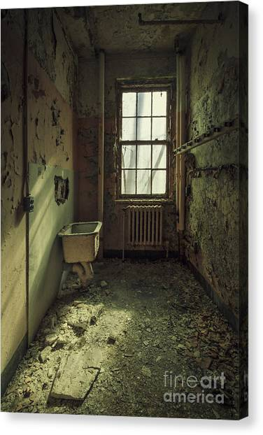 Dilapidated Canvas Print - Decade Of Decay by Evelina Kremsdorf