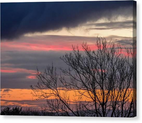 December County Clare Sunrise Canvas Print