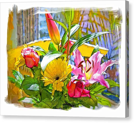 December Flowers Canvas Print by Chuck Staley