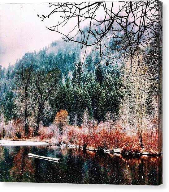 Idaho Canvas Print - #december In #idaho by Cody Haskell