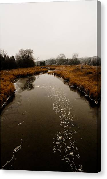 December River Canvas Print by BandC  Photography