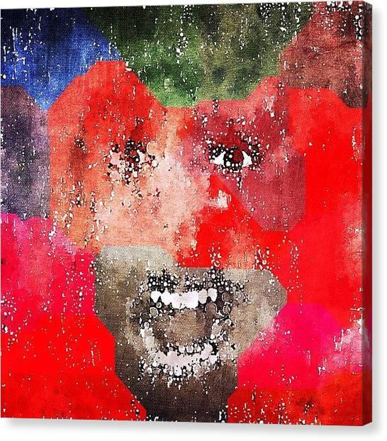Expressionism Canvas Print - #decim8ed #decim8ios by Alexander Shmakoff