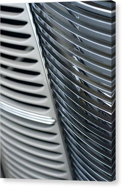 Deco Grill Canvas Print by Denise Beverly