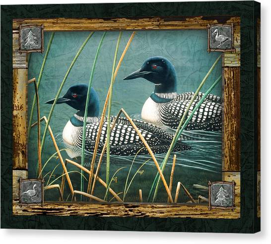 Loons Canvas Print - Deco Loons by JQ Licensing