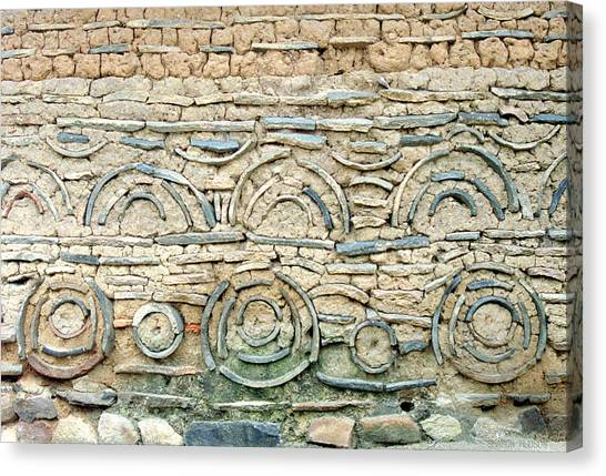 decorative architecture photographs - Korean Wall Canvas Print
