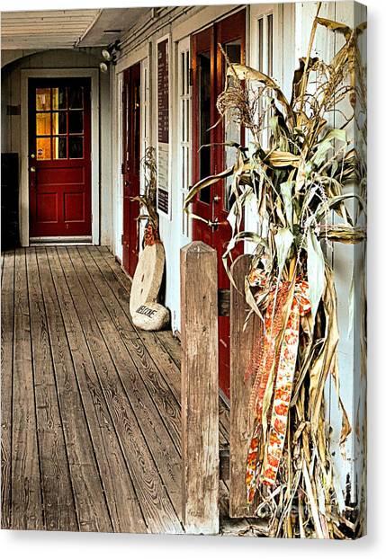 Decorative Corn Stalks Photograph By Janice Drew