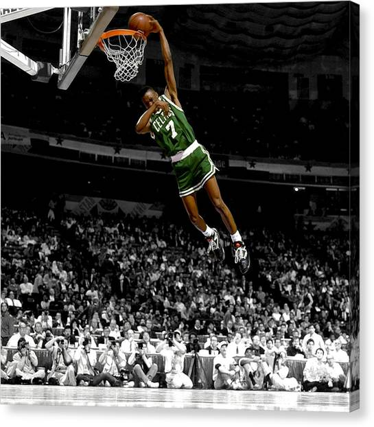 Sacramento Kings Canvas Print - Dee Brown by Brian Reaves