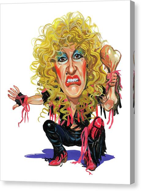 Dee Snider Canvas Print by Art