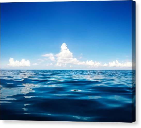 Cloudscape Canvas Print - Deep Blue by Nicklas Gustafsson