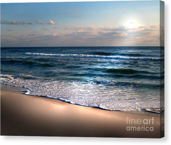 Deep Blue Sea Canvas Print by Jeffery Fagan