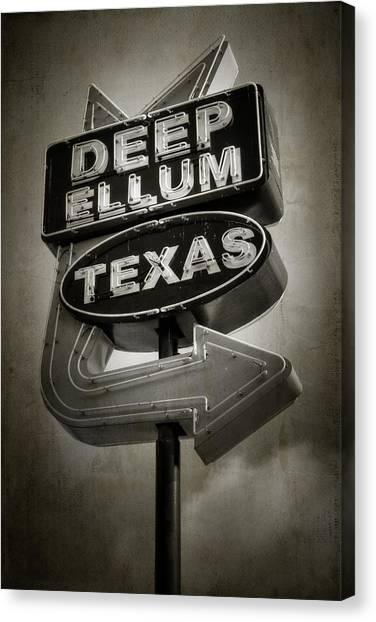 Deep Ellum Canvas Print