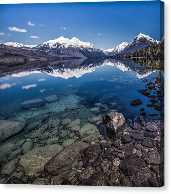 Deep Freeze Canvas Print