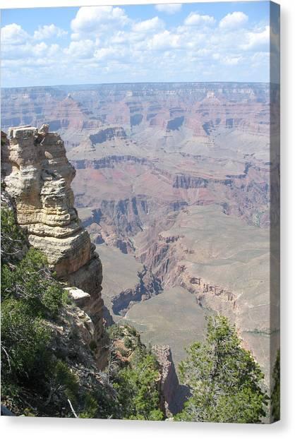 Deep Grand Canyon Canvas Print