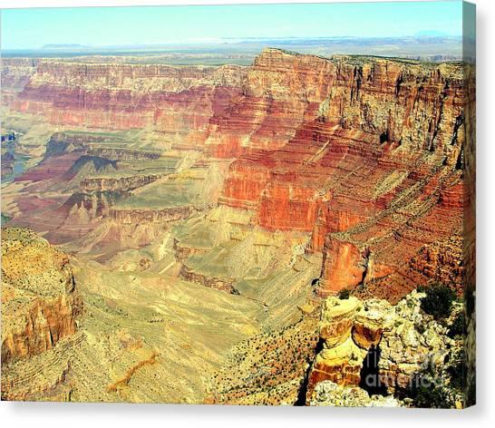Deep Grand Canyon Canvas Print by John Potts