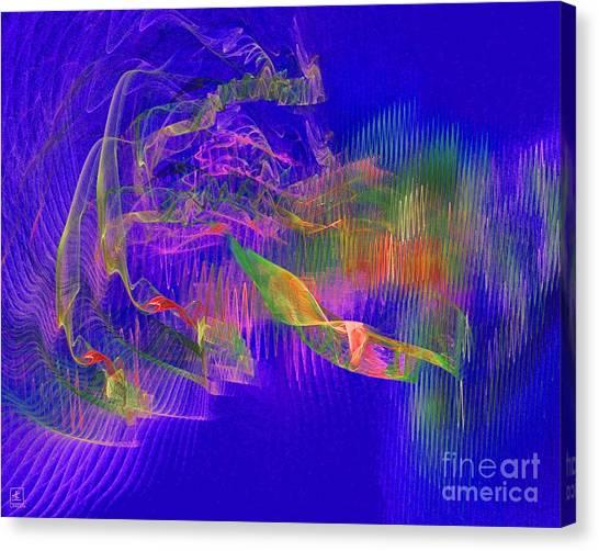 Deep Life 1 Canvas Print