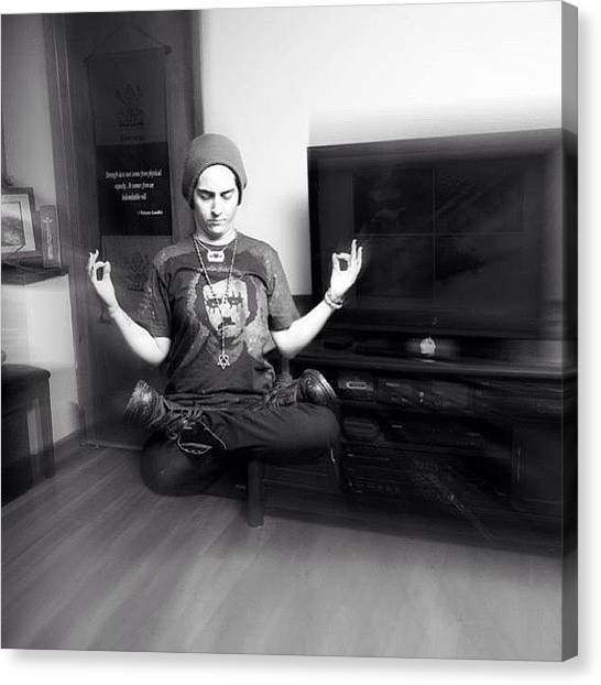 Om Canvas Print - Deep Meditation. #craigkempfphotography by Craig Kempf