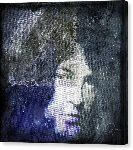 Deep Purple - Smoke On The Water Canvas Print
