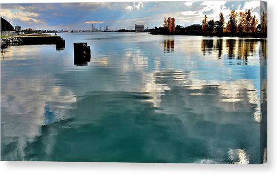 Deep Reflections 1 - Canada Canvas Print