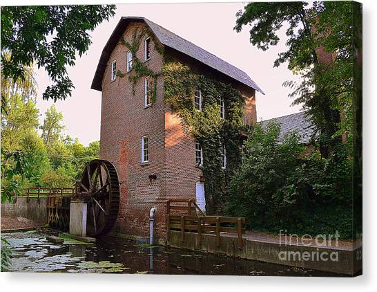 Deep River Mill Canvas Print