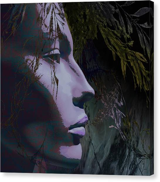 Canvas Print - Deep Under by Maria Jesus Hernandez