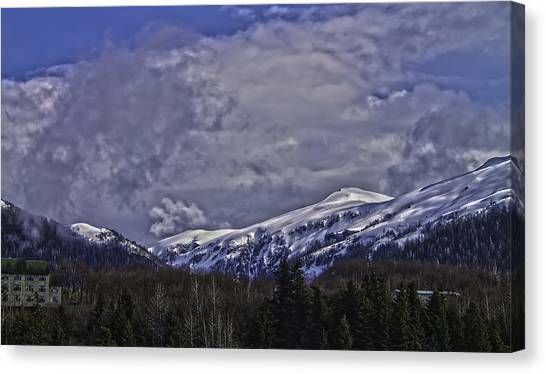 Deer Mountain R1 Canvas Print
