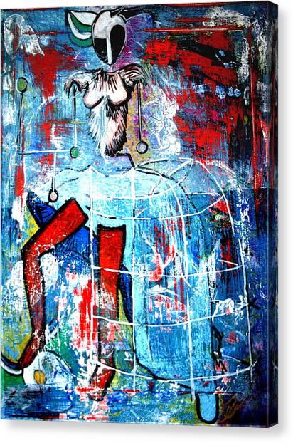 Deer Style Canvas Print