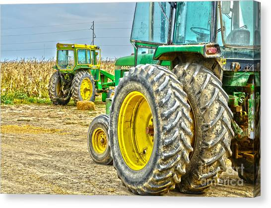 Deere 2 Canvas Print by Baywest Imaging