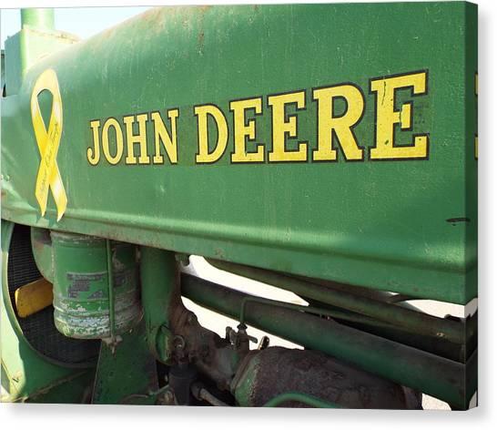 Deere Support Canvas Print