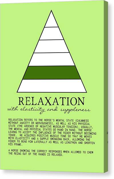 Relaxation Defined Canvas Print by JAMART Photography