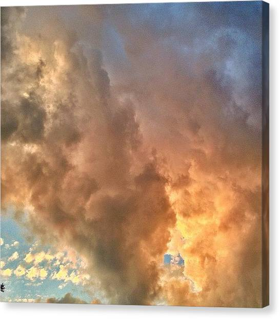 Vermont Canvas Print - Definition Of #cloudporn #vermont And by James Whaley Cart