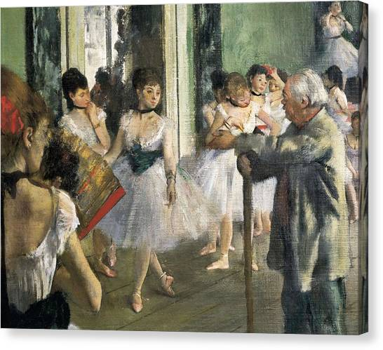 Classe Canvas Print - Degas, Edgar 1834-1917. The Dancing by Everett