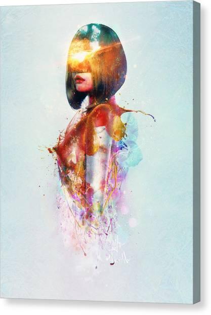 Presents Canvas Print - Deja Vu by Mario Sanchez Nevado