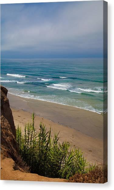 Del Mar Beach Canvas Print