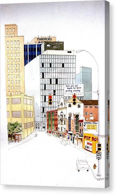 Delaware Avenue Canvas Print