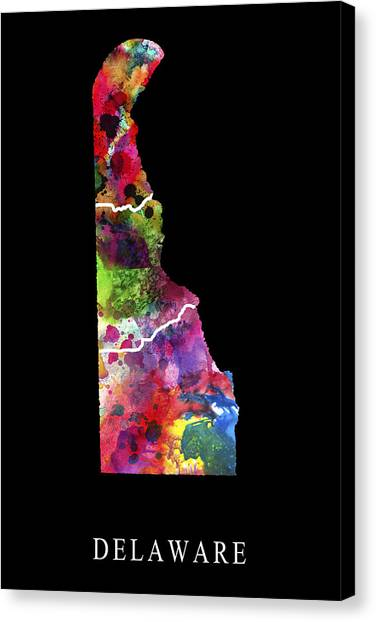 Kent State University Canvas Print - Delaware State by Daniel Hagerman