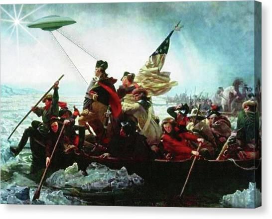 Delaware Ufo Canvas Print