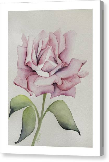 Delicate Dance Canvas Print by Nancy Edwards