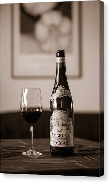 Delicious Amarone Canvas Print