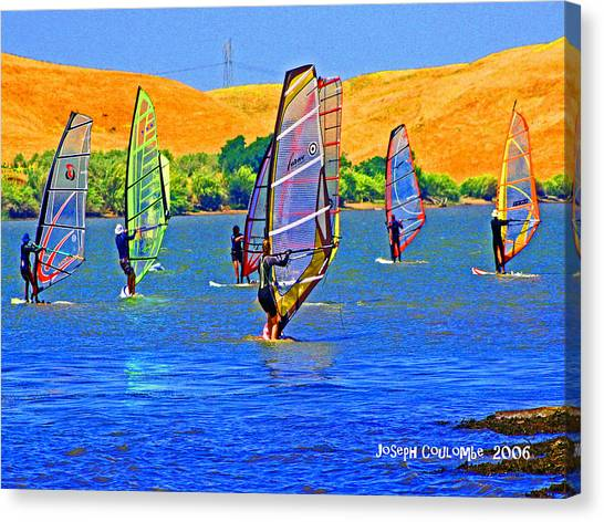 Delta Water Wings Canvas Print