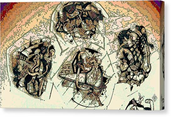 Demolitia Canvas Print