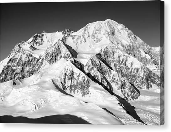Denali Canvas Print - Denali by Alasdair Turner