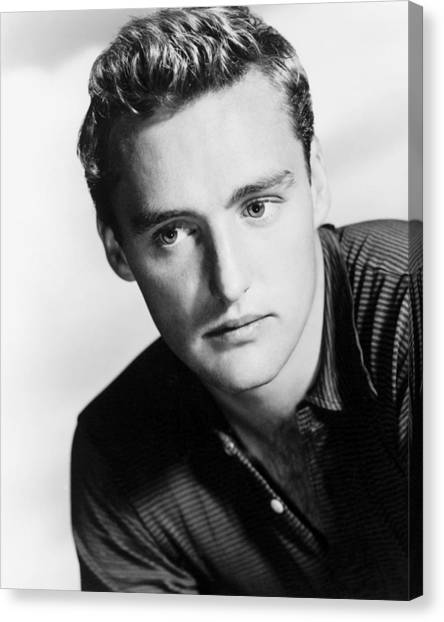 Dennis Hopper Canvas Print - Dennis Hopper by Silver Screen