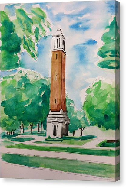 Denny Chimes Canvas Print