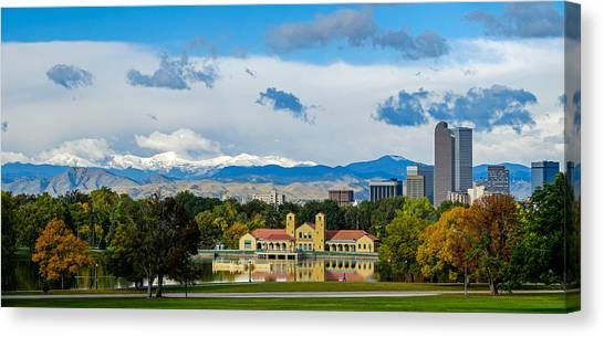 Denver's City Park Canvas Print